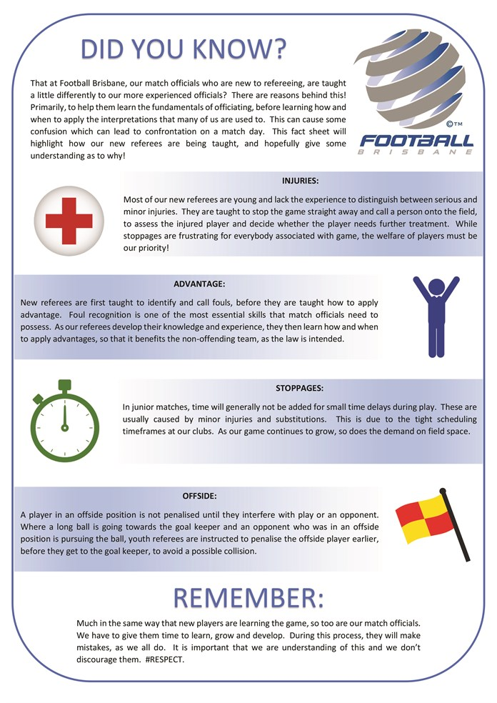 Youth  Referee  Fact  Sheet