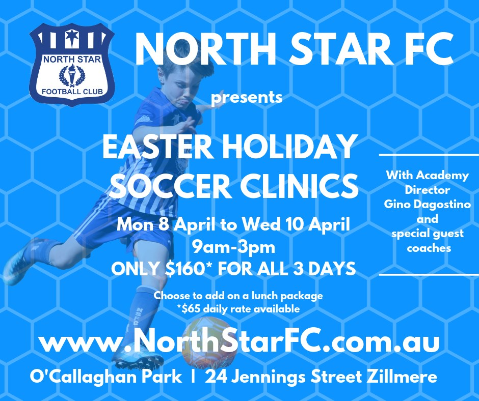 Easter Hol Clinic Flyer
